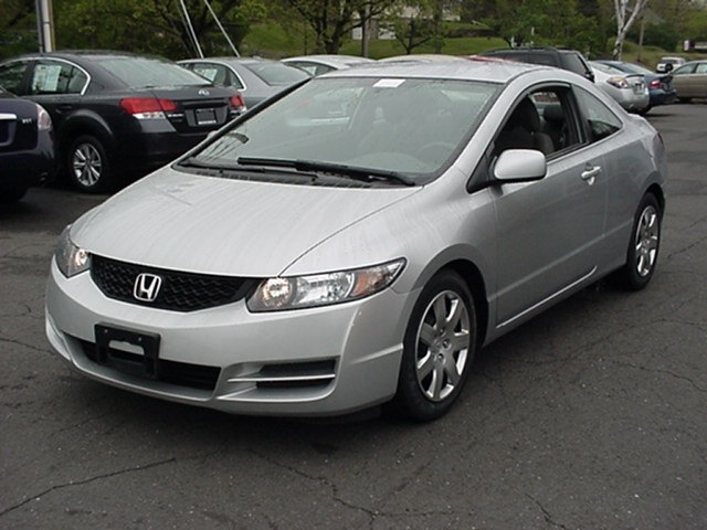 honda civic 2009 silver coupe lx gasoline 4 cylinders front wheel drive automatic 06019 honda. Black Bedroom Furniture Sets. Home Design Ideas
