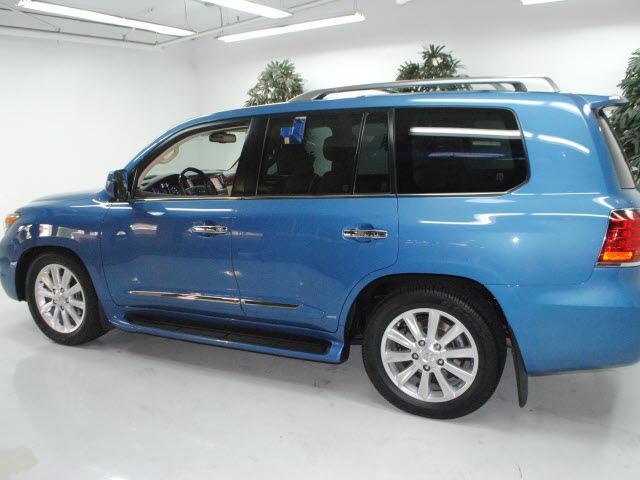 lexus lx 570 2009 blue suv gasoline 8 cylinders 4 wheel drive ...