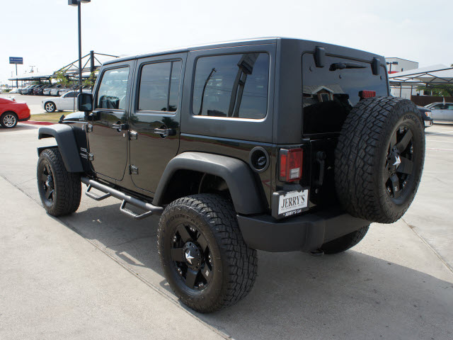 jeep wrangler unlimited 2012 black suv sport gasoline 6 cylinders 4 wheel drive automatic 76087. Black Bedroom Furniture Sets. Home Design Ideas