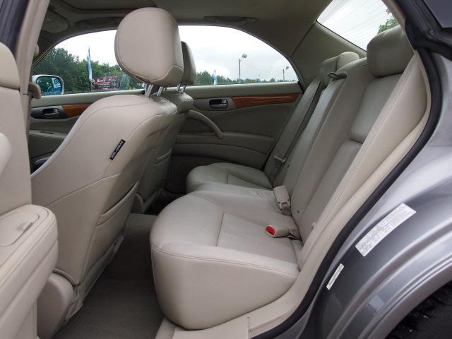 Infiniti M45 2003 Silver Sedan Gasoline 8 Cylinders Dohc Rear Wheel