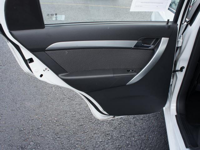 chevrolet aveo 2011 white sedan lt gasoline 4 cylinders front wheel