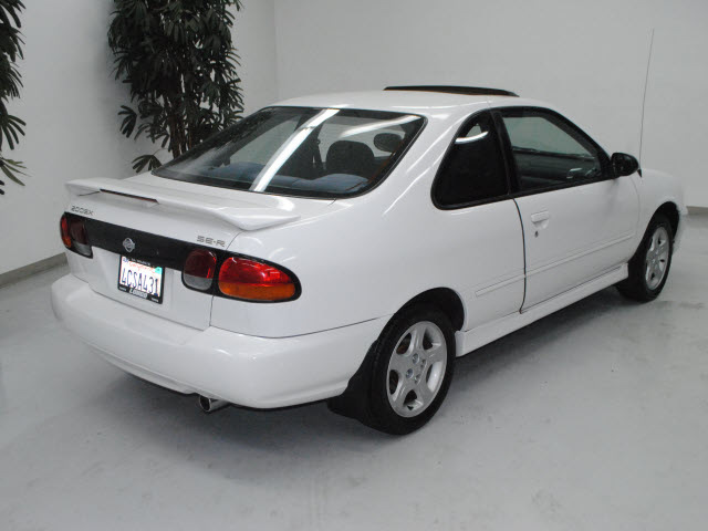 nissan 200sx 1998 white coupe se r gasoline 4 cylinders. Black Bedroom Furniture Sets. Home Design Ideas