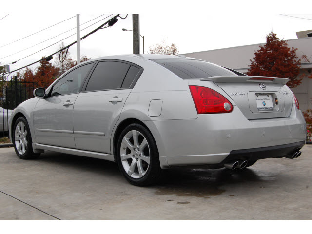 nissan maxima 2008 silver sedan 3 5 se gasoline 6 cylinders front wheel drive automatic 77002. Black Bedroom Furniture Sets. Home Design Ideas