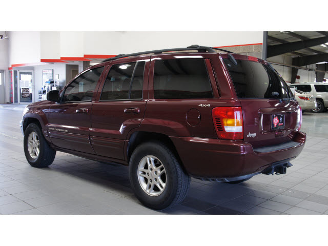 jeep grand cherokee 1999 marron suv limited gasoline 8 cylinders 4 wheel drive 4 speed automatic. Black Bedroom Furniture Sets. Home Design Ideas