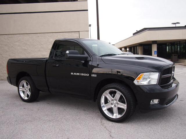 Ram ram pickup 1500 2012 black r t sport gasoline 8 cylinders 2 wheel drive automatic 76011 ram