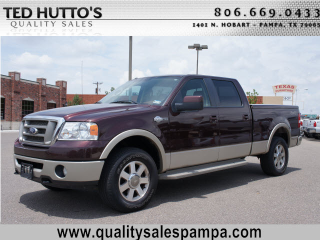 ford f 150 2008 dk red king ranch flex fuel 8 cylinders 4 wheel drive automatic 79065 ford f. Black Bedroom Furniture Sets. Home Design Ideas