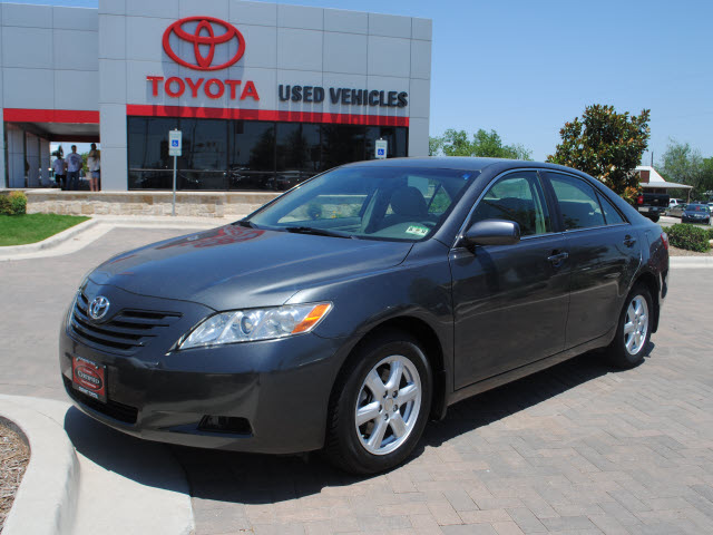 toyota camry 2007 gray sedan le gasoline 4 cylinders front wheel drive automa. Black Bedroom Furniture Sets. Home Design Ideas