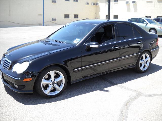 Mercedes Benz C Class 2005 Black Sedan C230 Kompressor