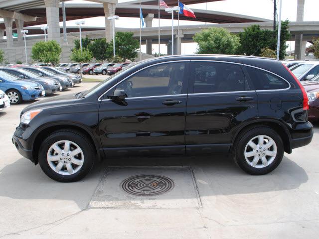 Honda cr v 2009 black suv ex l w navi gasoline 4 cylinders for 2009 honda crv