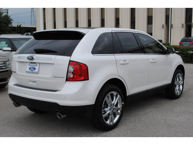 ford edge 2013 white limited gasoline 6 cylinders front wheel drive automatic 77074 ford edge. Black Bedroom Furniture Sets. Home Design Ideas