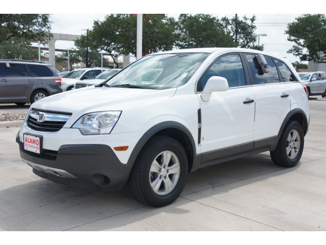 Saturn Vue 2009 White Suv Xe V6 Gasoline 6 Cylinders All Whee Drive Automatic 78232 171 Saturn Vue