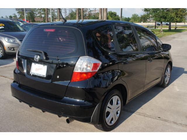 honda fit 2009 black hatchback gasoline 4 cylinders front wheel drive automatic 77339 honda fit. Black Bedroom Furniture Sets. Home Design Ideas