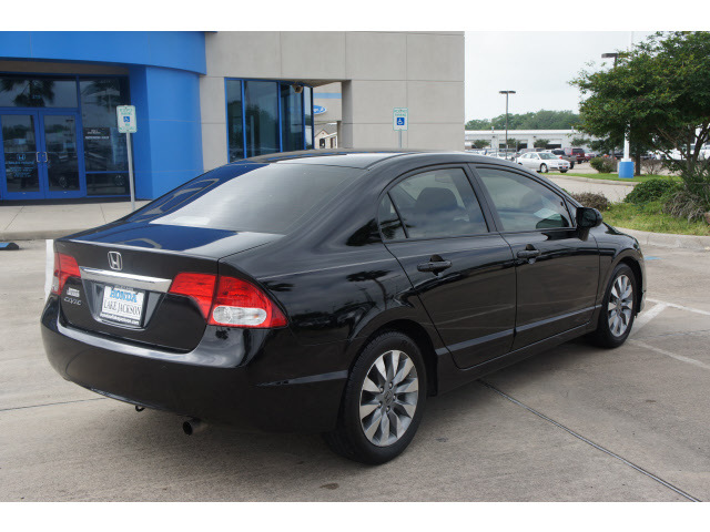 Black Honda Civic With Black Rims Honda Civic 2009 Black Sedan