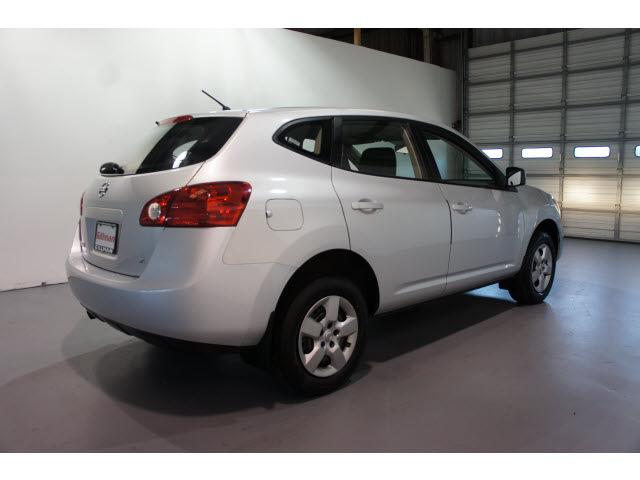 nissan rogue 2009 silver wagon rogue gasoline 4 cylinders front wheel drive cont variable trans. Black Bedroom Furniture Sets. Home Design Ideas