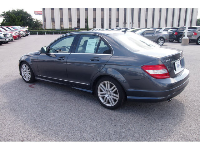 mercedes benz c class 2009 dk gray sedan c300 4matic sport. Black Bedroom Furniture Sets. Home Design Ideas