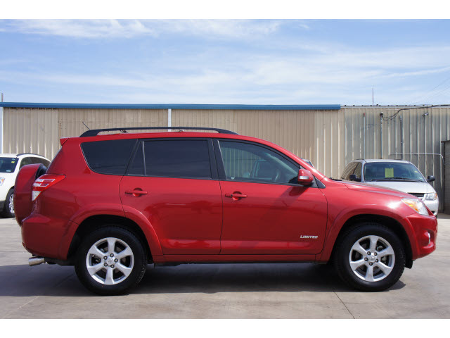 Toyota Rav4 2009 Red Suv Limited Gasoline 6 Cylinders
