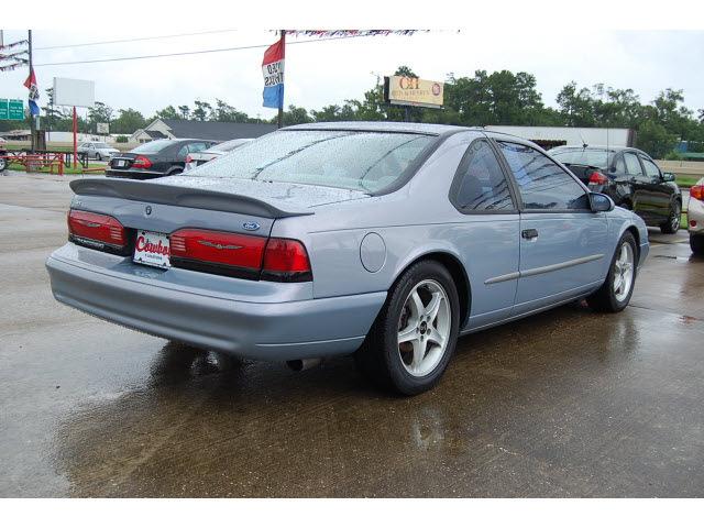 ford thunderbird 1995 blue coupe lx gasoline v8 rear wheel. Black Bedroom Furniture Sets. Home Design Ideas
