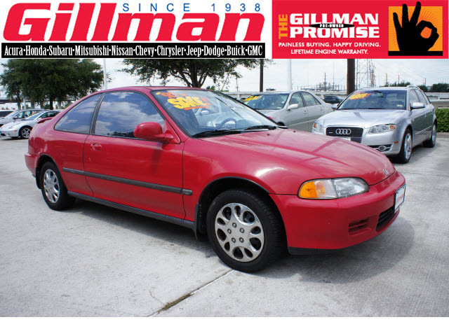 honda civic 1995 red coupe ex gasoline 4 cylinders front wheel drive 5 speed manual 77099 honda. Black Bedroom Furniture Sets. Home Design Ideas