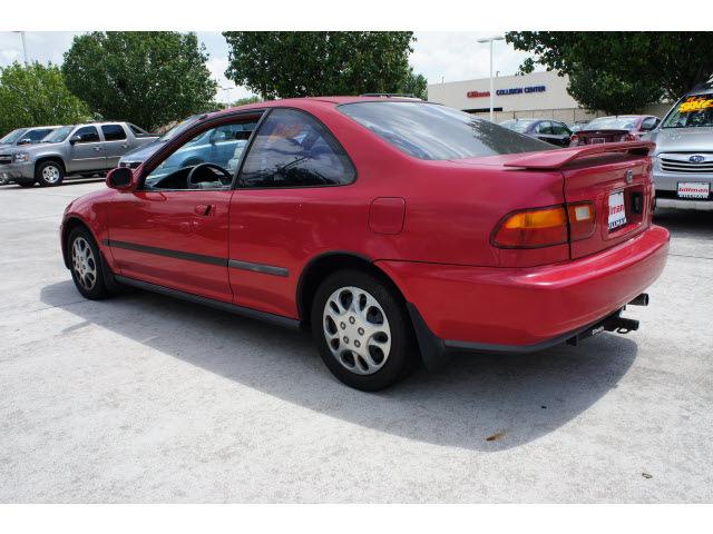 honda civic 1995 red coupe ex gasoline 4 cylinders front wheel drive rh photoofcar com 1995 honda civic manual steering rack 1995 honda civic manual steering rack