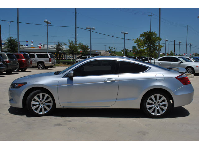 honda accord 2009 silver coupe ex l gasoline 4 cylinders front wheel drive automatic 78233