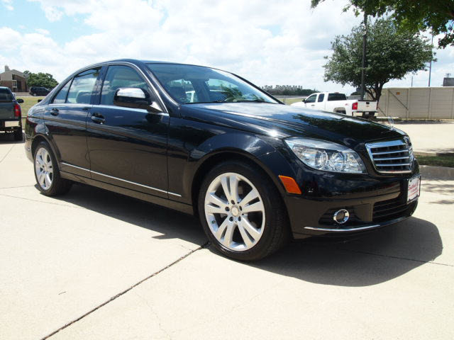 mercedes benz c class 2009 black sedan c300 4matic sport. Black Bedroom Furniture Sets. Home Design Ideas