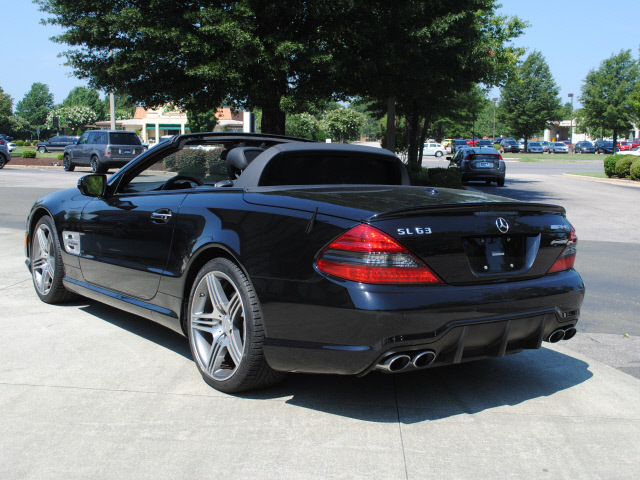 Blacked Out Mercedes e Class Class 2009 Black Sl63 Amg