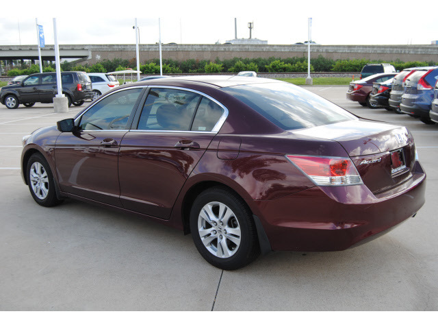 Honda Accord 2009 Red Sedan Lx P Gasoline 4 Cylinders