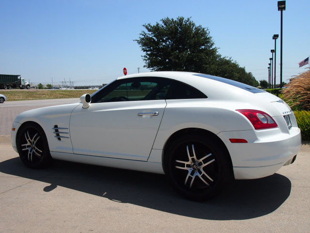 chrysler crossfire 2004 white. chrysler crossfire 2004 white coupe gasoline 6 cylinders sohc rear wheel drive automatic 76018 c