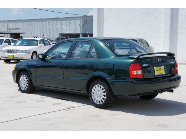 Mazda Protege 2000 Green Sedan Lx Gasoline 4 Cylinders