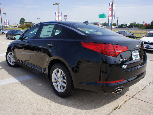 Kia Optima 2013 Black kia optima 2013 black sedan lx