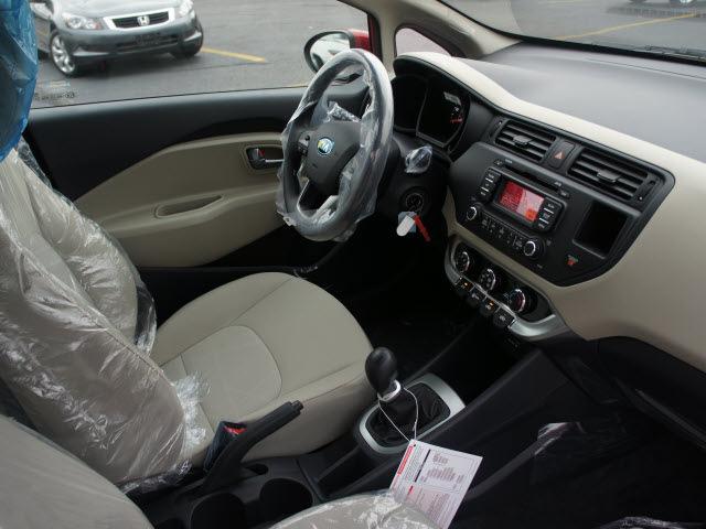Kia Rio 2013 Signal Red Hatchback Lx Gasoline 4 Cylinders
