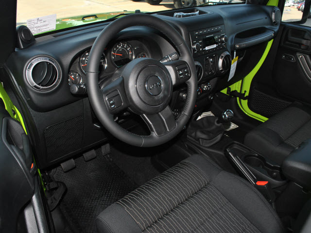 jeep wrangler unlimited 2012 green suv sport gasoline 6 cylinders 4 wheel drive 6 speed manual. Black Bedroom Furniture Sets. Home Design Ideas