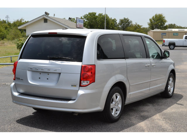 What Is Flex Fuel >> dodge grand caravan 2012 silver van crew flex fuel 6 cylinders front wheel drive automatic 76401 ...