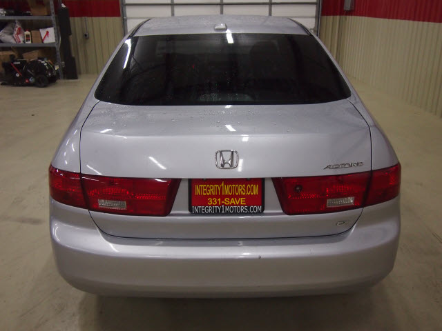 honda accord 2005 silver sedan ex w leather gasoline 4 cylinders front ...