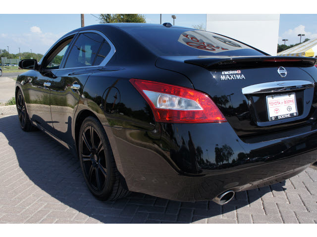 nissan maxima 2011 black sedan nismo gasoline 6 cylinders front wheel drive automatic 78006. Black Bedroom Furniture Sets. Home Design Ideas