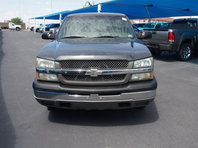 chevrolet silverado 1500 2003 dk gray pickup truck work truck flex fuel 8 cylinders 4 wheel. Black Bedroom Furniture Sets. Home Design Ideas
