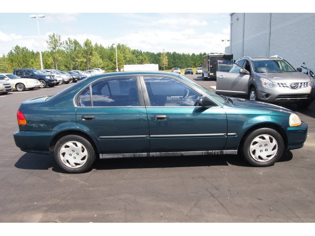 Honda Civic 1997 Aloe Green Sedan Lx 4 Cylinders Automatic