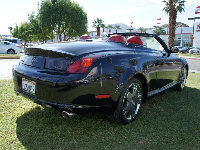 Lexus Sc Black Gasoline Cylinders Rear Wheel Drive Automatic