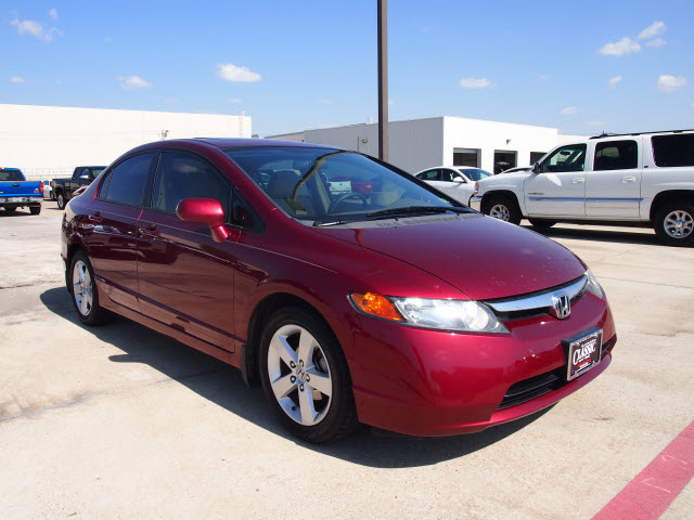 honda civic 2008 maroon sedan ex 4 cylinders automatic