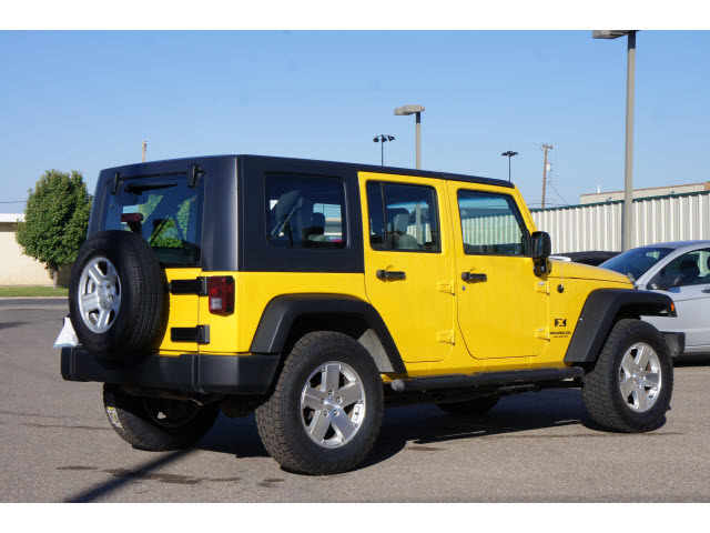 Jeep Wrangler Unlimited Yellow Suv X Gasoline Cylinders