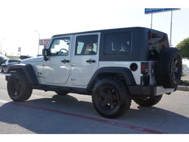 jeep wrangler unlimited 2009 silver suv x gasoline 6. Black Bedroom Furniture Sets. Home Design Ideas