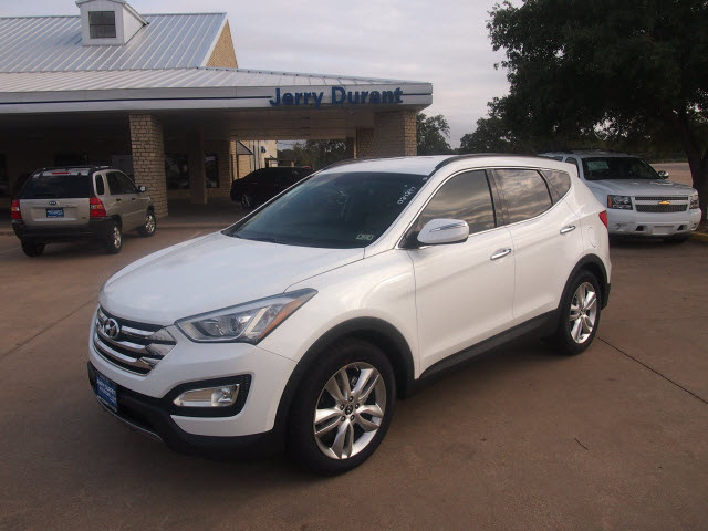hyundai santa fe sport 2013 white 2 0t gasoline 4 cylinders front wheel drive automatic 76049. Black Bedroom Furniture Sets. Home Design Ideas