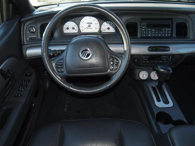 Mercury Marauder 2003 Black Sedan Gasoline 8 Cylinders