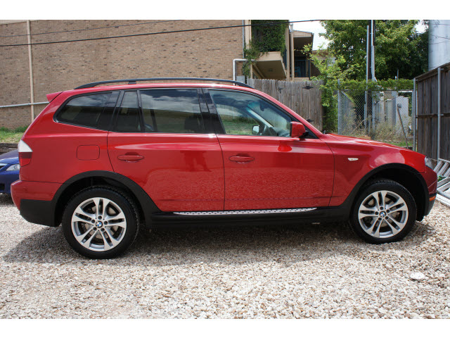 Bmw X3 2008 Red Suv 3 0si Gasoline 6 Cylinders All Whee Drive Automatic 78757