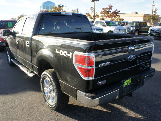 ford f 150 2013 black xlt flex fuel 8 cylinders 4 wheel drive automatic 79407 ford f 150 2013. Black Bedroom Furniture Sets. Home Design Ideas