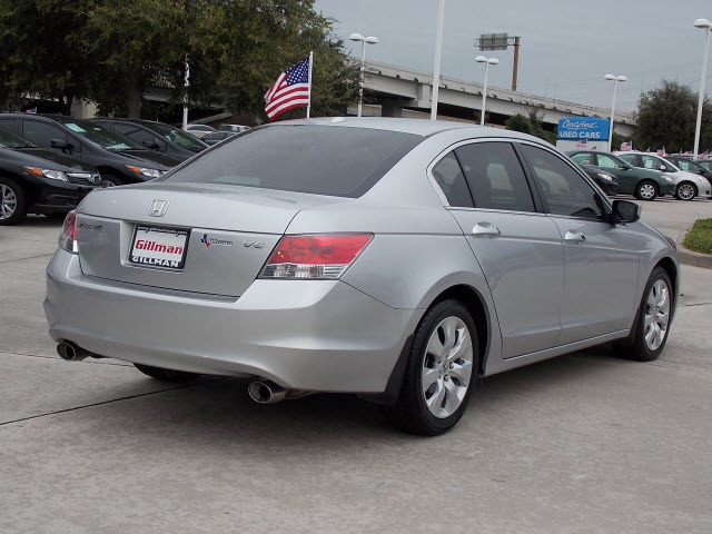 honda accord 2009 silver sedan ex l v6 gasoline 6 cylinders front wheel drive automatic with. Black Bedroom Furniture Sets. Home Design Ideas