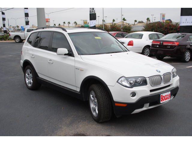 bmw x3 2008 white suv 3 0si gasoline 6 cylinders all whee. Black Bedroom Furniture Sets. Home Design Ideas