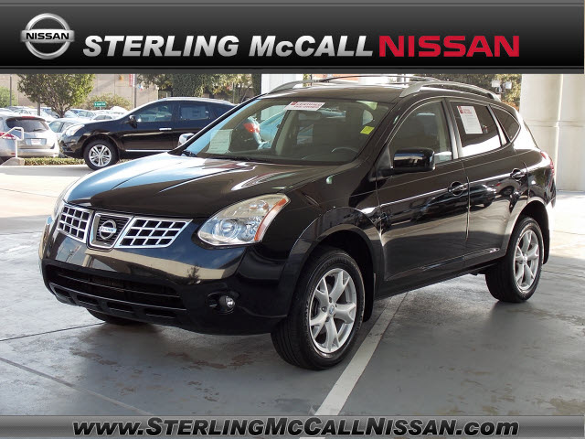 nissan rogue 2009 black suv sl gasoline 4 cylinders front wheel drive automatic with overdrive. Black Bedroom Furniture Sets. Home Design Ideas