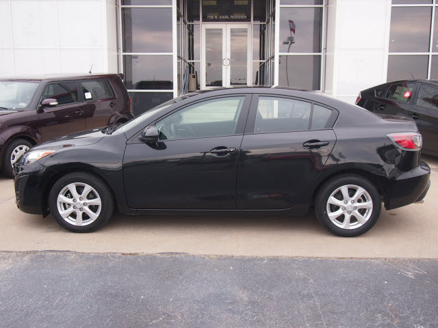 mazda mazda3 2011 black sedan i touring gasoline 4 cylinders front wheel drive automatic with. Black Bedroom Furniture Sets. Home Design Ideas