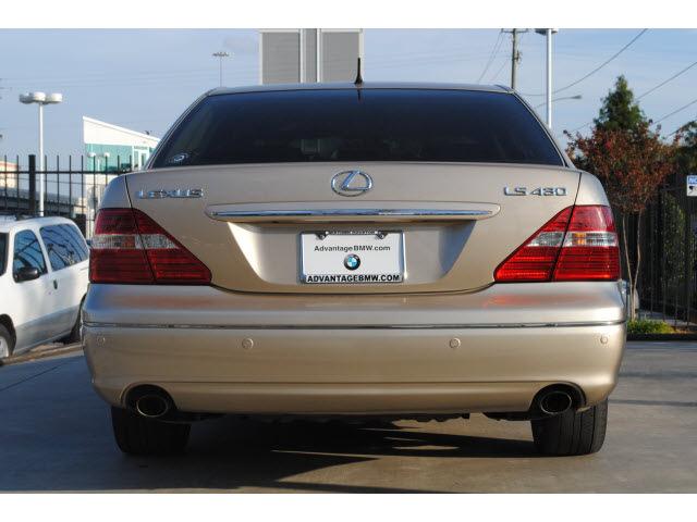 Lexus Ls 430 2006 Gold Sedan Gasoline 8 Cylinders Rear Wheel Drive Automatic 77002 171 Lexus Ls 430